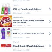 Screenshot Coupies App