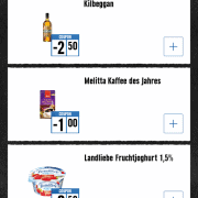 Screenshot Edeka App