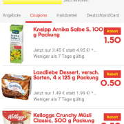 Screenshot Netto App