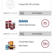Screenshot Rossmann App