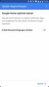 Mein neuer Mitbewohner: Google Home 24