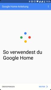 Mein neuer Mitbewohner: Google Home 27