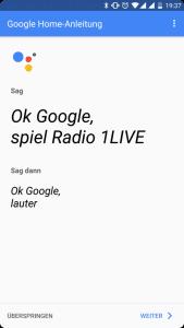 Mein neuer Mitbewohner: Google Home 30