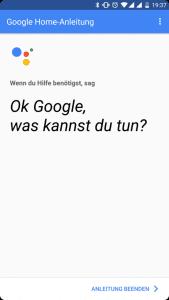 Mein neuer Mitbewohner: Google Home 31
