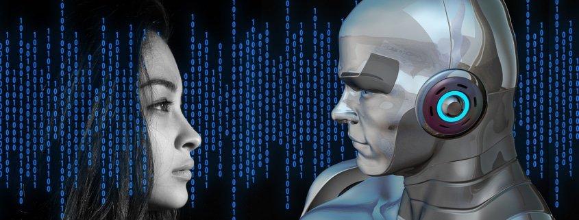 Roboter & Mensch