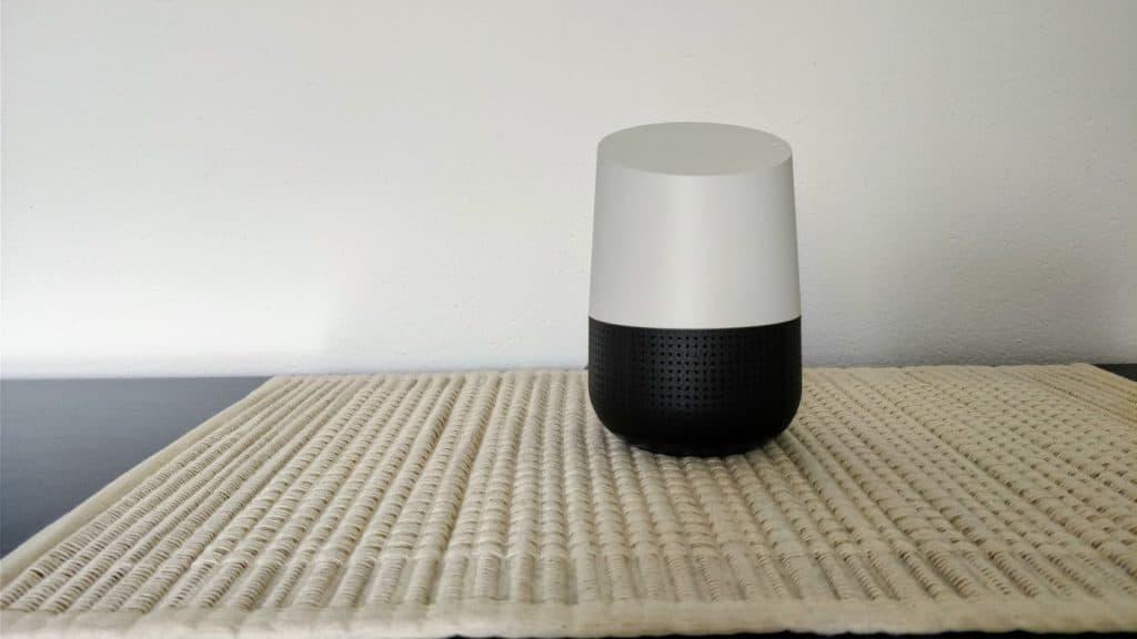 Das kleine Schwarze - Meine neue Google Home Basis