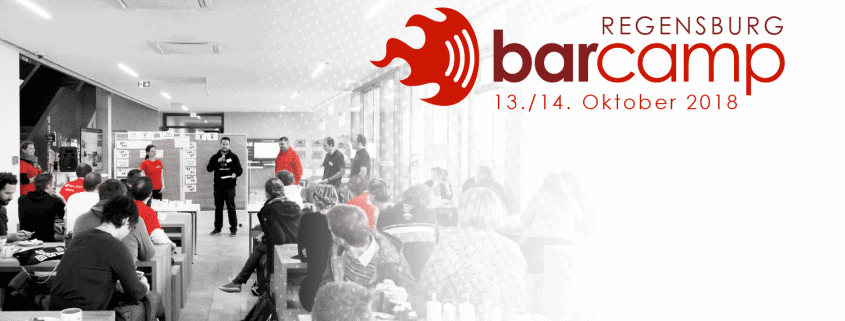 Das BarCamp Regensburg kommt... 1