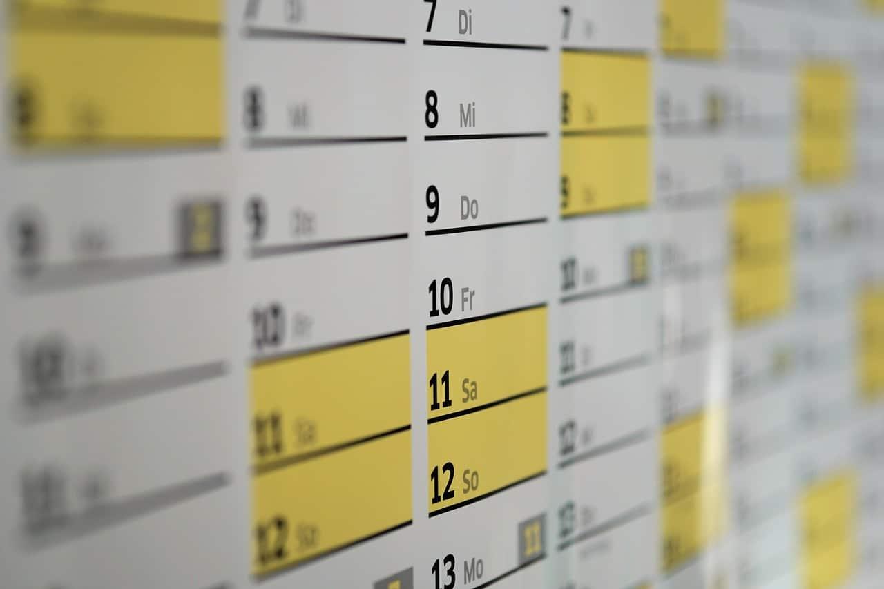 Geek Kalender 2018 - alle wichtigen Termine - 1. Quartal