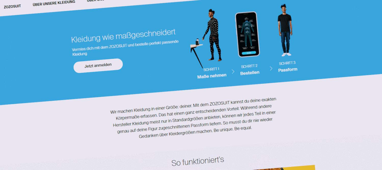 Zozosuit - Der Maßschneider im Smartphone - [Update]