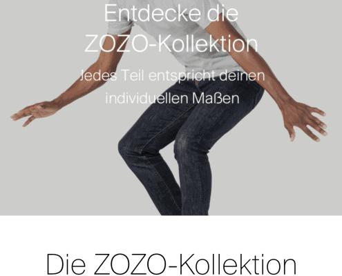 Zozosuit - Der Maßschneider im Smartphone - [Update] 1