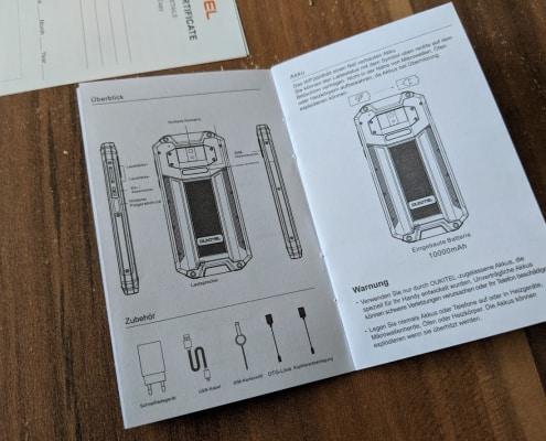 Oukitel WP2 - Das Unboxing 9