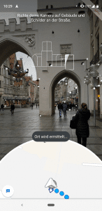 Google Maps Augmented Reality - Navigation startet in Deutschland 2