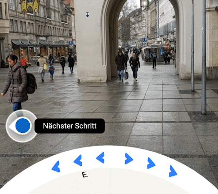 Google Maps Augmented Reality - Navigation startet in Deutschland 9