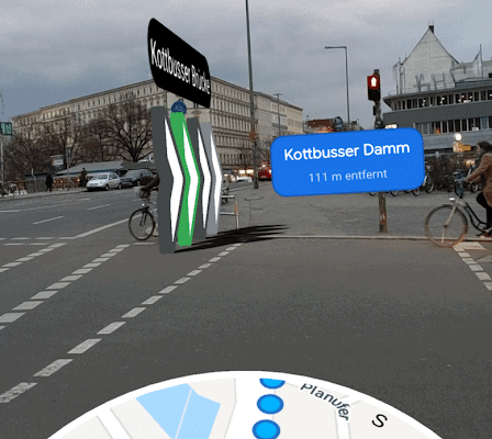 Google Maps Augmented Reality - Navigation startet in Deutschland 4