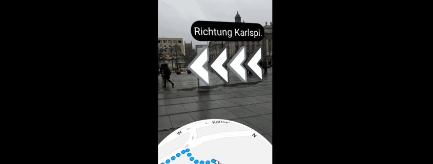 Google Maps Augmented Reality - Navigation startet in Deutschland 1