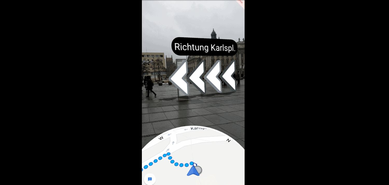 Google Maps Augmented Reality - Navigation startet in Deutschland