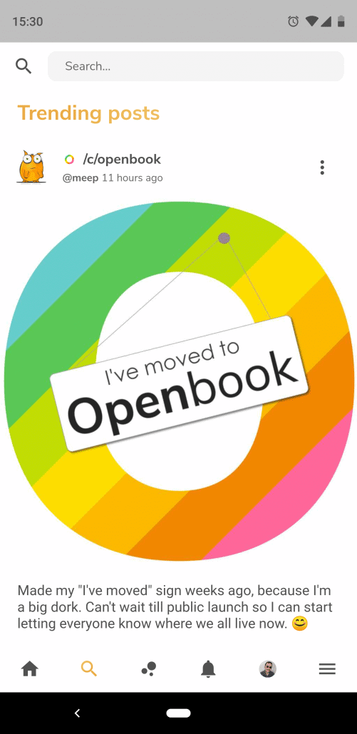 Hallo Welt - Hallo Openbook - Bavarian Geek