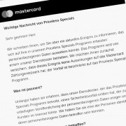 Mastercard Skandal