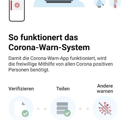 Ein erster Einblick in die Corona-Warn-App 9