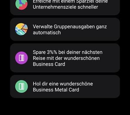 bunq - Ein kurzer Einblick in das neue Update 14 3