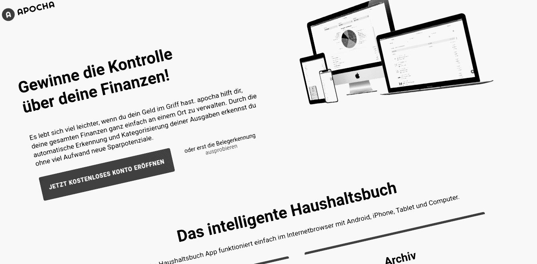 App Tipp: Apocha - Das intelligente Haushaltsbuch