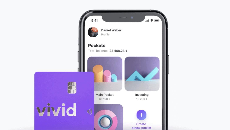 Fintech Vivid startet mit Aktienhandel