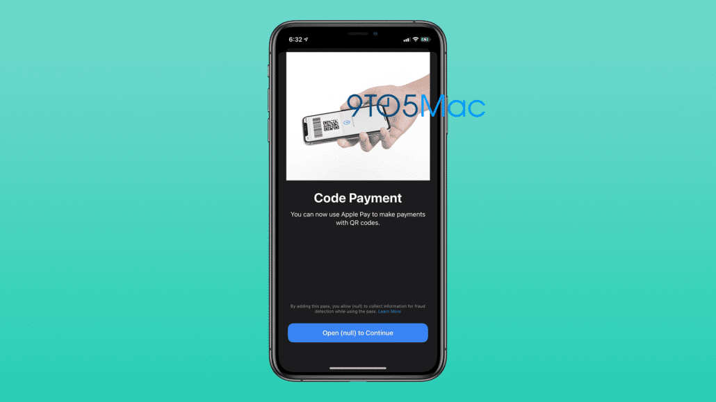 Apple-Pay Barcode payment