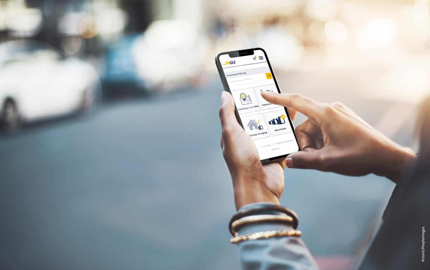 Paketdienst GLS veröffentlicht neue Smartphone-App