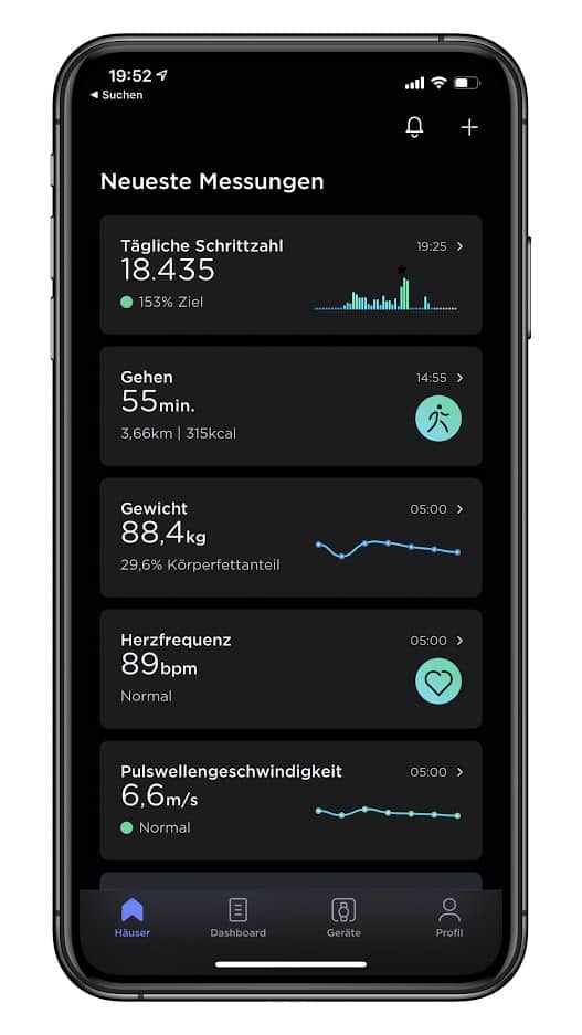 Withings Health Mate Screen 01
