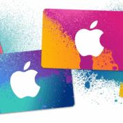 Apple iTunes Geschenkkarte