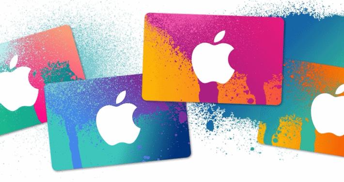 Apple Geschenkkarte
