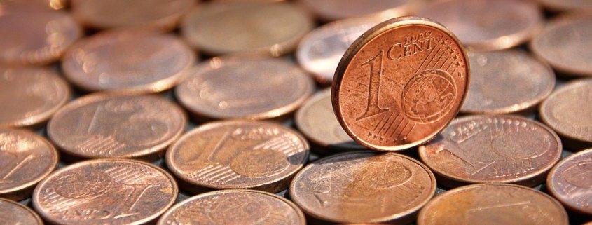 Euro Cent Münzen