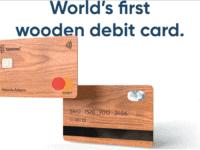 treecard - Die Welt 1. Mastercard aus Holz [Update]
