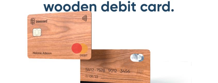 TreeCard Holz Debit Mastercard