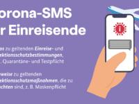 Corona-SMS für Einreisende ab 1. März 2021