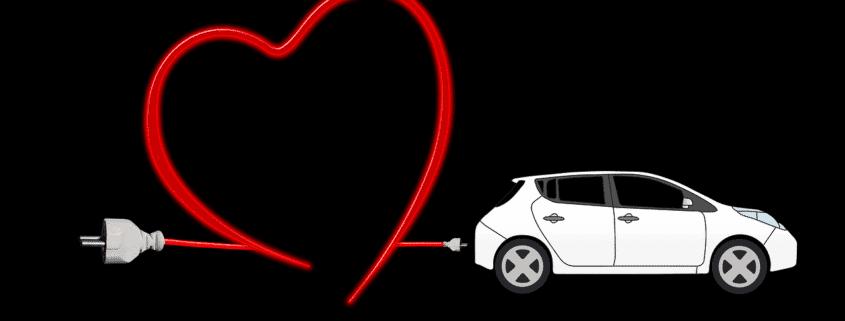 E-Auto Elektroauto Love