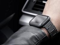 Das Pitaka Kohlefaser Armband für die Apple Watch